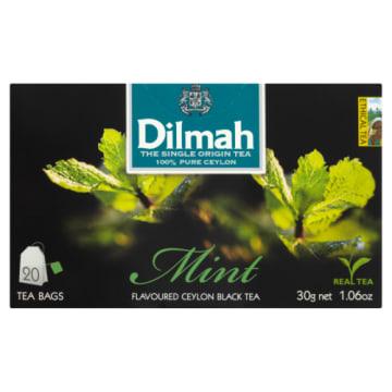 Herbata miętowa - Dilmah to czarna herbata z miętowym aromatem, doskonała na każdy dzień.