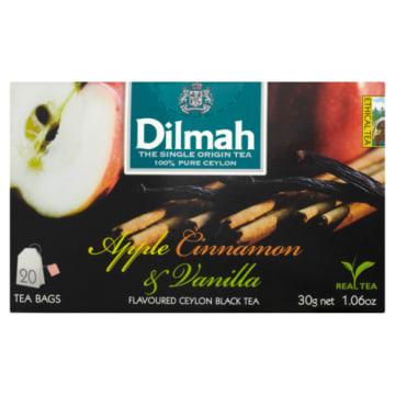 Dilmah - Herbata jabłko-cynamon-wanilia. Pyszny smak owocowej herbaty.