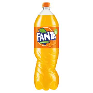 Fanta - Gazowany napój pomarańczowy. Codzienna dawka orzeźwienia.