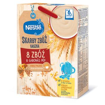Kaszka mleczna manna - Nestlé. Szybki w przygotowaniu i pełnowartościowy posiłek dla dzieci.