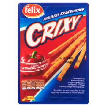 Felix - Paprykowe paluszki krakersowe. Gaszą nagły głód i smakują wspaniale.