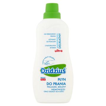 Płyn do prania dla dzieci – Dzidziuś jest dokładnie przebadany i spełnia normy produktów dla dzieci.