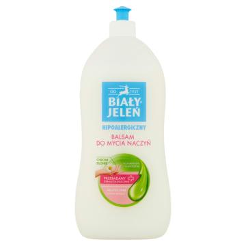 Hipoalergiczny balsam do mycia - Biały Jeleń gwarantuje uczucie świeżości.
