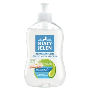Hipoalergiczny żel do mycia naczyń zapewnia bezpieczeństwo dla nawet najwrażliwszej skóry.
