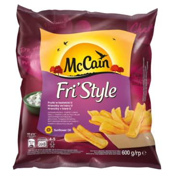 Frytki łódeczki mrożone – McCain. Frytki to innowacja McCain dająca zupełnie nowe doznania smakowe