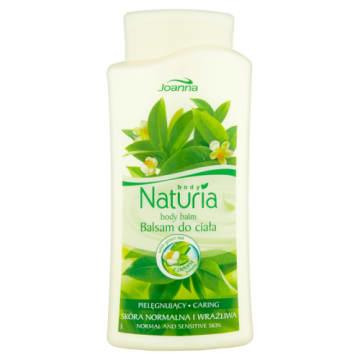 Balsam do ciała z zieloną herbatą Naturia - Joanna. Pielęgnujący balsam do ciała o działaniu nawilżającym.