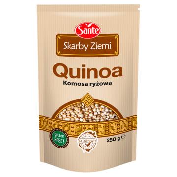 Komosa ryżowa Skarby Ziemi Quinoa Sante to bogate źródło białka i witamin.