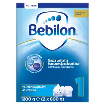 Mleko początkowe z Pronutra 1 - Bebilon. Pełnowartościowe mleko początkowe dla niemowląt.
