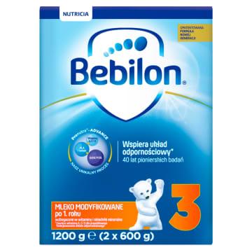 Mleko modyfikowane - Bebilon Junior 3. Bezpieczne mleko dla dzieci po 12 miesiącu życia.