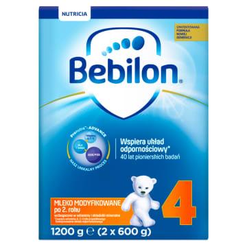 Mleko modyfikowane - Bebilon Junior. Przeznaczone jest dla dzieci wieku powyżej 24 miesięcy życia.