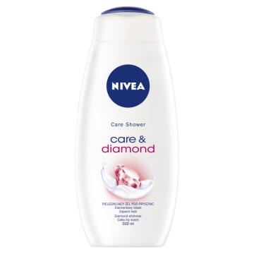 Nivea – Kremowy żel pod prysznic Diamond Touch myje, nawilża i delikatnie odżywia skórę.