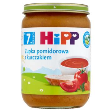HIPP - zupka pomidorowa. Zdrowy obiad dla niemowląt