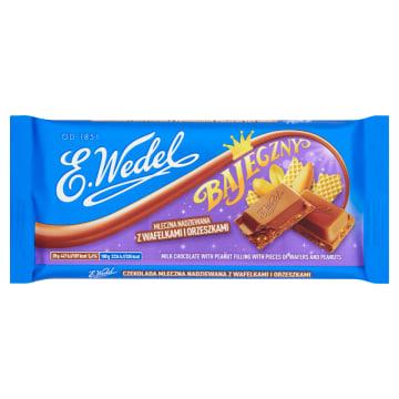 Wedel - Czekolada mleczna Bajeczny, Z orzeszkami.