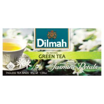 Zielona herbata z kwiatami jaśminu - Dilmah