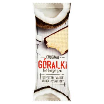 Góralki – Wafelek kokosowy batonik w polewie czekoladowej szybko dostarczy ci energii.