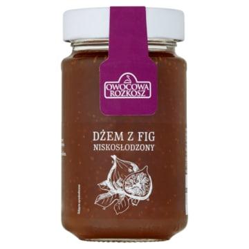Niskosłodzony dżem z fig, 250 g – Owocowa Rozkosz. Smak świeżych owoców w twojej kuchni.