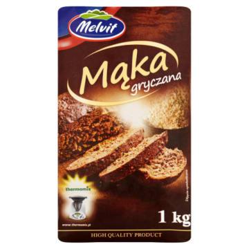 Mąka gryczana Melvit - idealna do potraw normalnych i dietetycznych