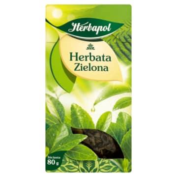 Herbapol Herbata zielona liściasta wspomaga trawienie i utrzymanie prawidłowej wagi.
