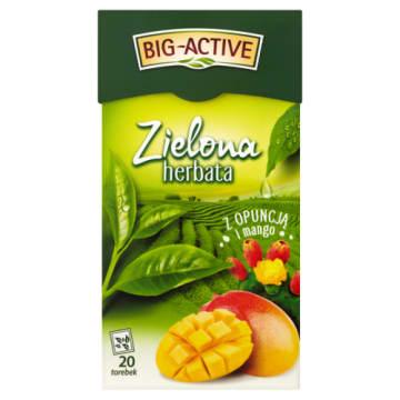 Zielona herbata z opuncją i mango - Big - Active