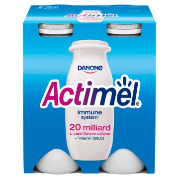 Klasyczny napój mleczny Actimel - Danone. Napój mleczny, który naturalnie wspiera Twoją odporność.