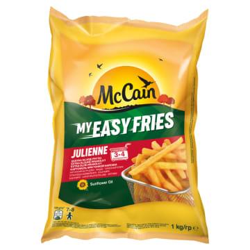 Superdługie frytki mrożone - Mccain. Frytki z najlepszych ziemniaków i oleju słonecznikowego.