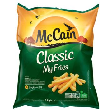 Frytki mrożone My Fries Classic - McCain. Do przygotowania na patelni i we frytkownicy.