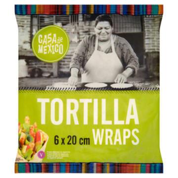 Tortilla pszenna - 6 szt - Hoola