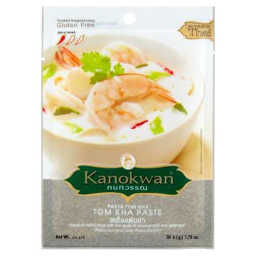 Pasta Tom Kha – Kanokwan łączy w sobie zioła, tajską tradycję i nowoczesne normy żywieniowe.