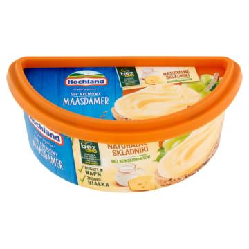 Hochland Ser topiony w kubeczku do smarowania Maasdamer to źródło wapnia i białka w wygodnej formie.