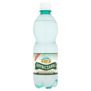 Woda mineralna - Kryniczanka. Naturalna i krystalicznie czysta woda niegazowana.