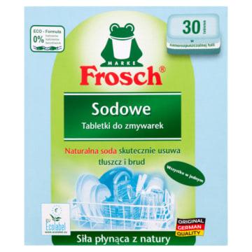 Tabletki do zmywarek - Frosch. Czyste i lśniące naczynia w każdej kuchni.