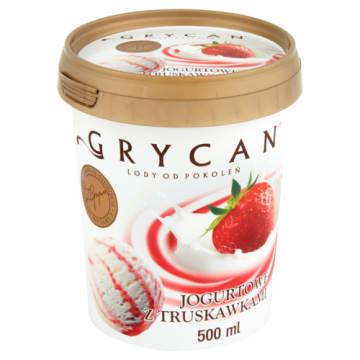 Lody jogurtowe z truskawkami dla całej rodziny – Grycan z naturalnych składników.