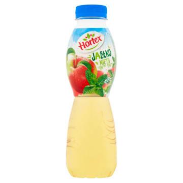 Hortex - Napój jabłko-mięta 500ml. Owocowy smak, wyjątkowe orzeźwienie.