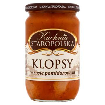 Klopsiki w sosie pomidorowym 700g - Kuchnia Staropolska. Pyszne danie błyskawiczne.