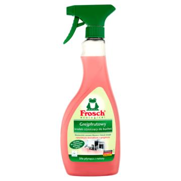 Środek do czyszczenia kuchni - Frosch pomocnik do walki z nawet największym brudem.