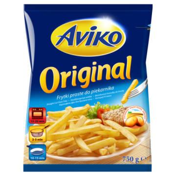 Proste frytki mrożone – Aviko Original to świetny pomysł na szybki i pyszny posiłek.