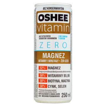Vitamin Energy Zero, napój gazowany z magnezem, minerałami i witaminami 250ml - Oshee