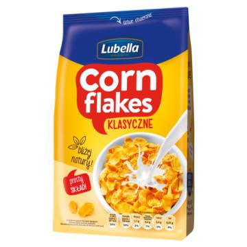 Lubella Corn Flakes - Płatki śniadaniowe. Idealne rodzinne śniadanie.