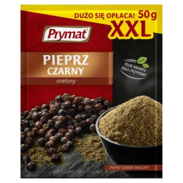 Prymat – Czarny pieprz mielony XXL to przyprawa, której nie może zabraknąć w żadnej kuchni