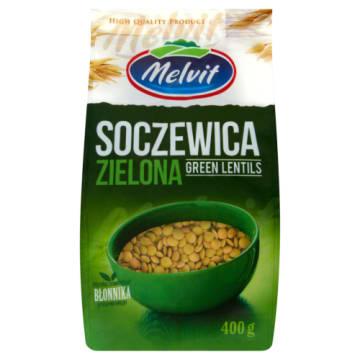 Melvit - Soczewica zielona. Pyszny u zdrowy dodatek do wielu potraw.