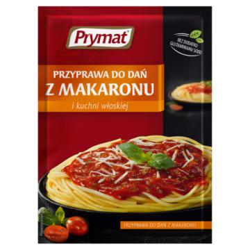 Przyprawa do dań z makaronu - Prymat. Szybki sposób na śródziemnomorską kuchnię.