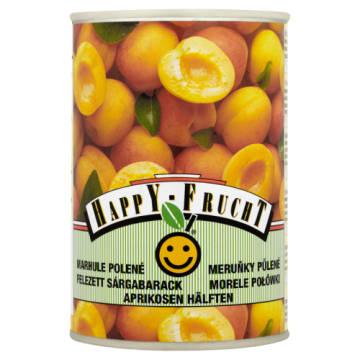 Połówki moreli - Happy Frucht. Smak słodkich moreli zatopionych w pysznym syropie.