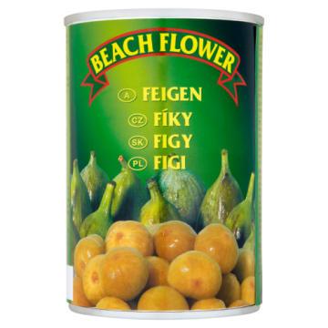 Figi w syropie 415g BEACH FLOWER - egzotyczne słodkie figi w lekkim syropie.