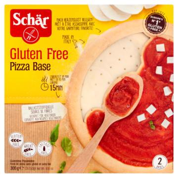 Bezglutenowe spody do pizzy - Schar. Bezglutenowe ciasto idealne dla alergików.