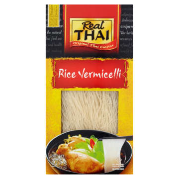 Makaron ryżowy Vermicelli - Red Thai. Orientalny makaron o delikatnym smaku.