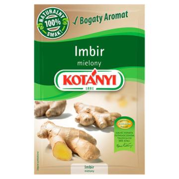 Imbir mielony Kotanyi - wszechstronna orientalna przyprawa.
