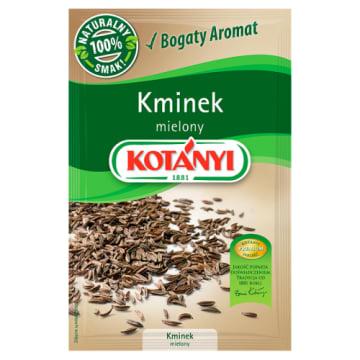 Kminek mielony 22g KOTANYI. Aromatyczna przyprawa kuchni węgierskiej.