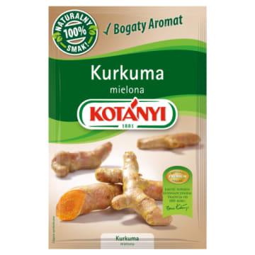 Kurkuma mielona, 10 g – Kotanyi. Pikantny smak z aromatem pomarańczowo-imbirowym.