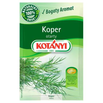 Koper otarty - Kotanyi. Inspirujący smak i piękny zapach.
