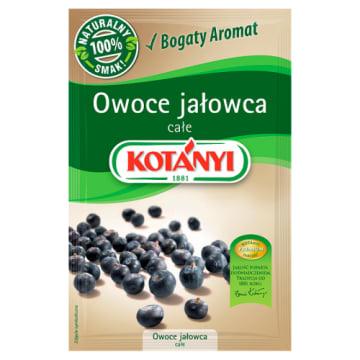 Owoce jałowca 20g - Kotanyi. Wyjątkowy smak i aromat każdej potrawy.